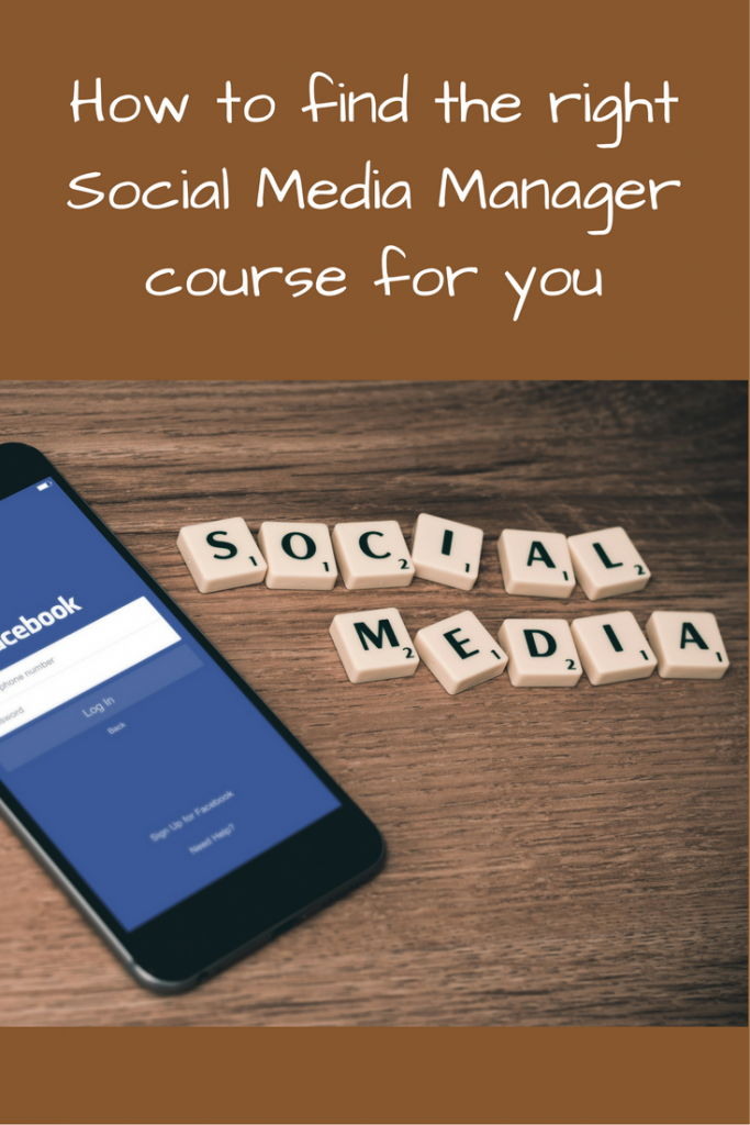 How to find the right Social Media Manager course for you