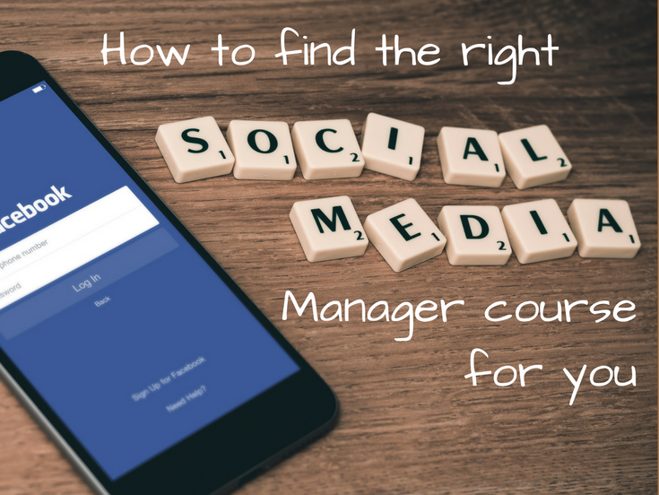 How to choose the best social media manager course for you