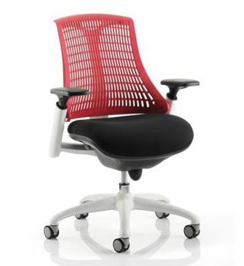 Red operator chair from Euroffice