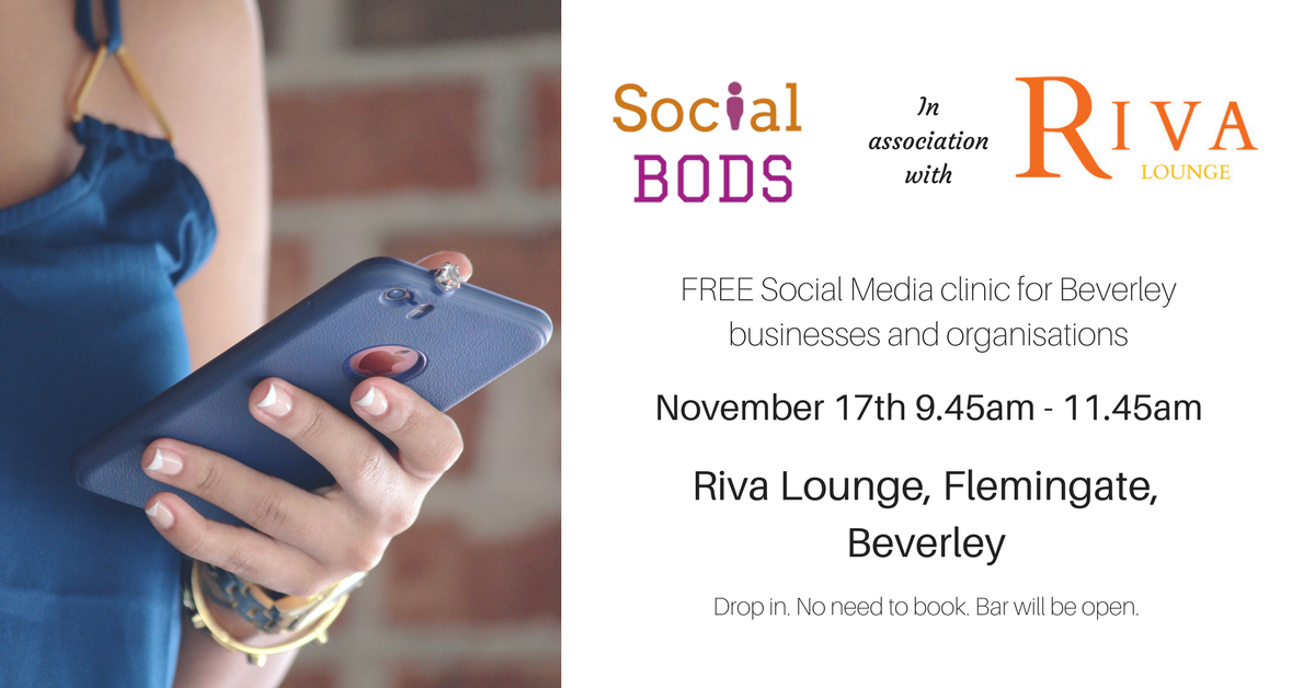 FREE Social Media Clinic in Beverley