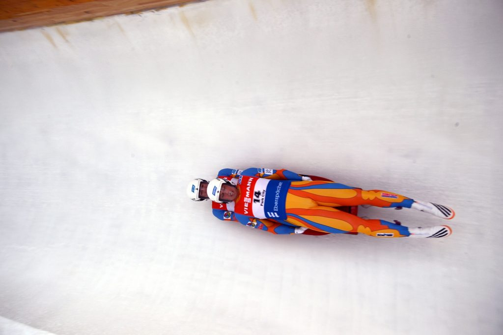 double luge at the Winter Olympics