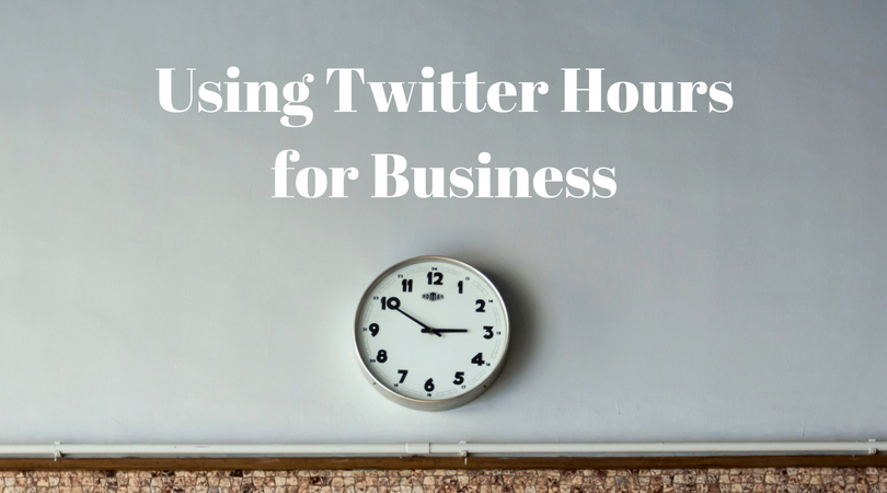 What is a Twitter hour and how can it help your business in 2018?