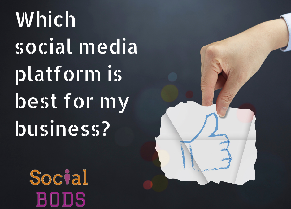 Which social media platform should I use for business?